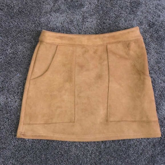 e5b72695fa Honey Punch Skirts | Nwot Tan Mini Skirt | Poshmark